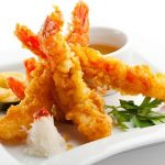 tempura krevetes